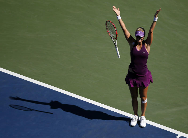 Lucic-Baroni finally back in Grand Slam 4th round