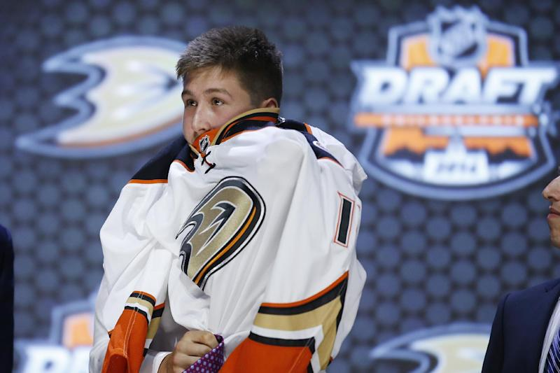 Ducks land Nick Ritchie with 10th pick in draft