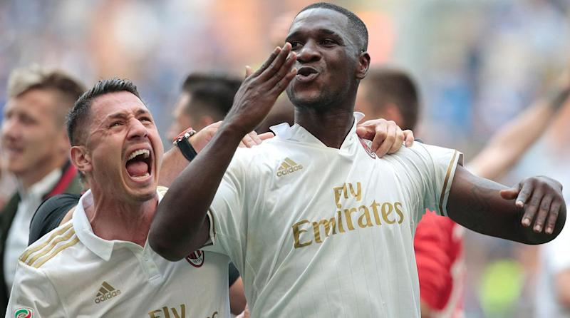 AC Milan salvage draw against Inter on Zapata goal