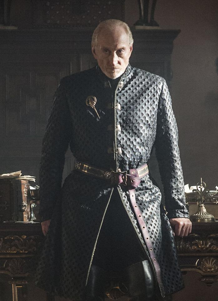 All hail the new Hand of the King, Tywin Lannister (Charles Dance). No doubt he'll put many schemes into motion in Season 3.