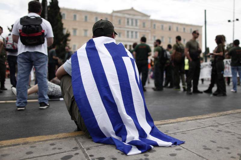 Greece bans protests during Schaeuble visit