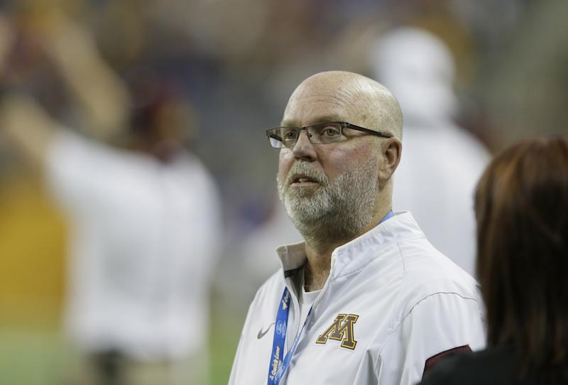 Jerry Kill retired as Minnesota head coach in October 2015 due to health reasons. (AP Photo/Carlos Osorio)