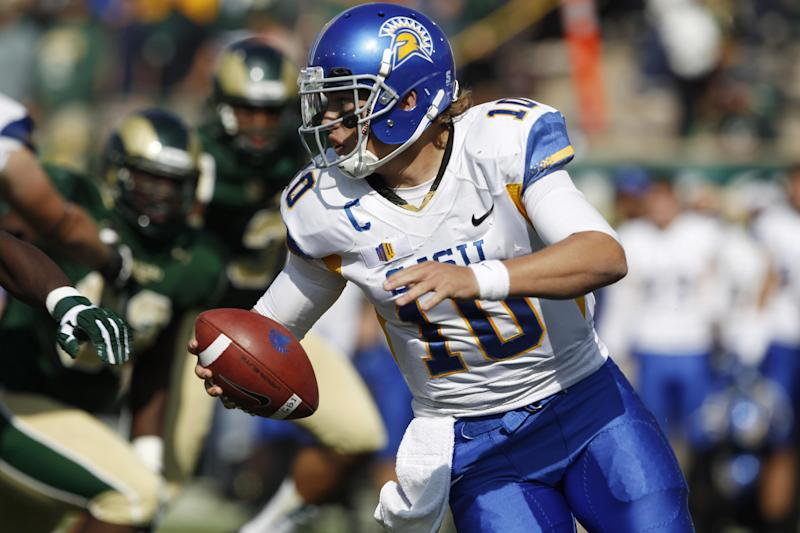 Fales, San Jose St overpower Colorado St 34-27