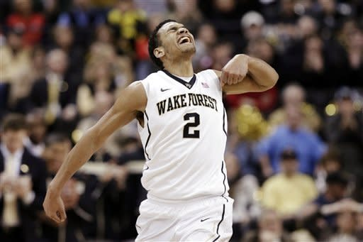 Wake Forest upsets No. 18 NC State 86-84