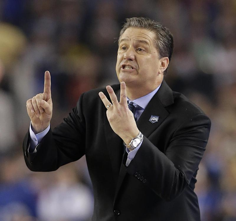 Kentucky gives Calipari 7-year, $52.5 million deal