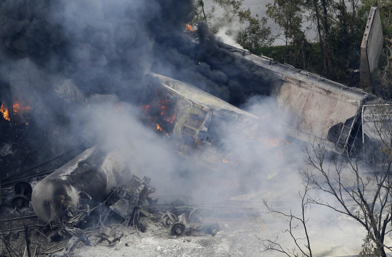 CSX: Md. train explosion caused by chemical cargo