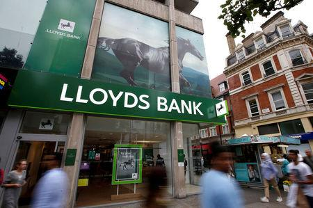 Lloyds shares soar as bank reports highest annual profit in decade