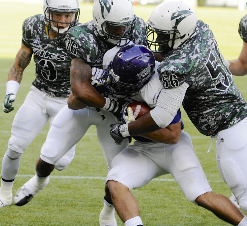 Portland State charges past Weber State 45-24