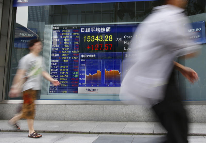 Asia stocks bolstered by US earnings, home sales