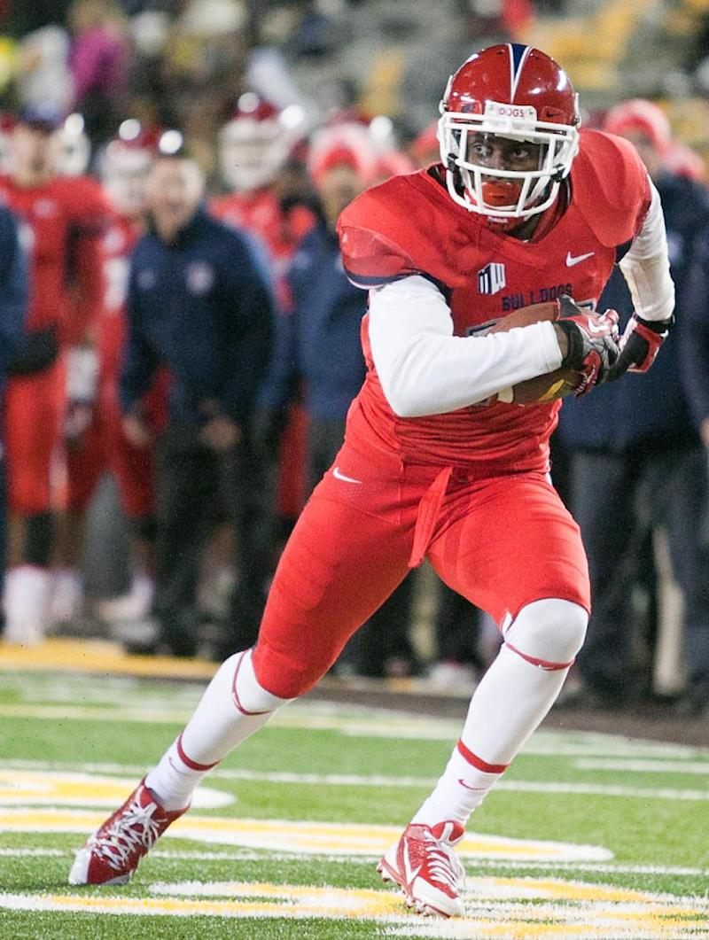No. 16 Fresno St. has depth at receiver