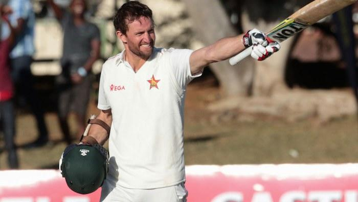 Craig Ervine's 151 not out helps Zimbabwe take charge against Sri Lanka