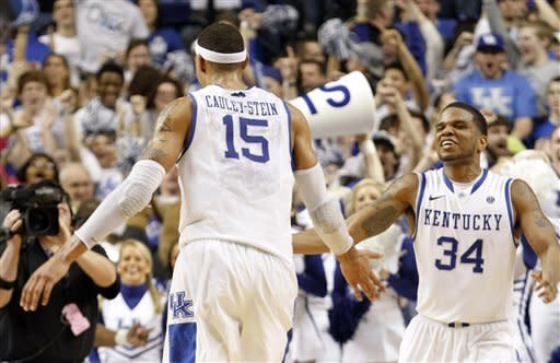 Kentucky upsets No. 11 Florida 61-57