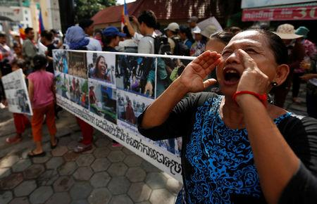 Cambodia sentences four rights activists to six months in prison