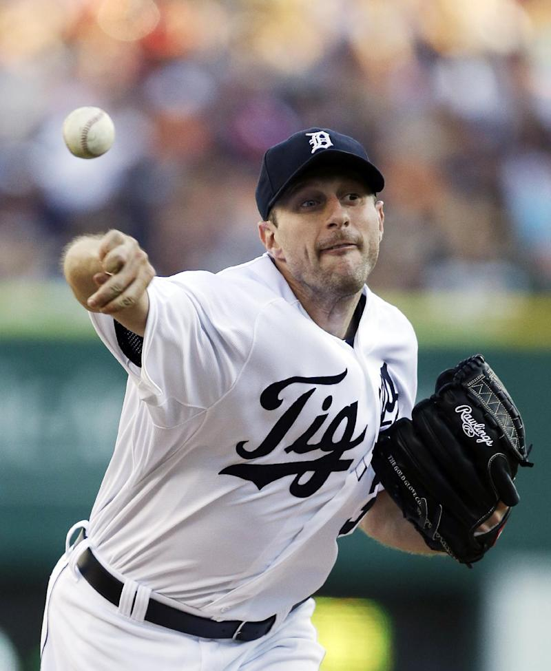 Scherzer wins 16th, Tigers beat White Sox 3-0