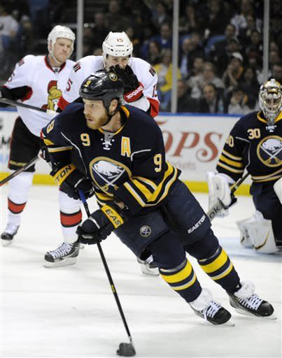 Sabres rally for 4-2 win over Senators