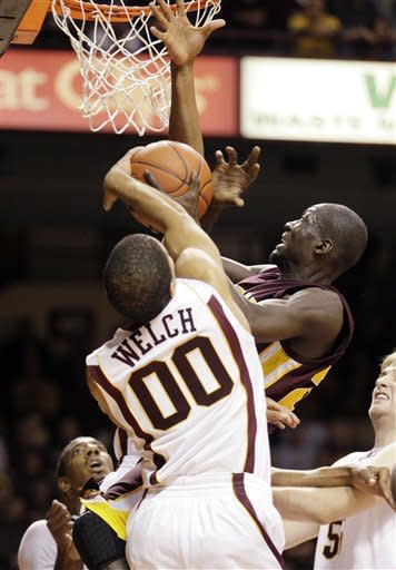 Welch leads Minnesota past Central Michigan 76-56