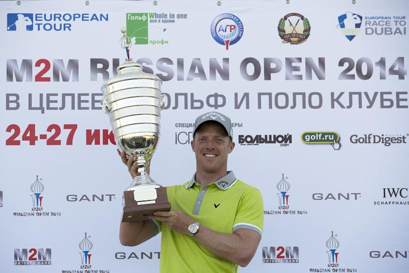 Horsey wins Russian Open in playoff