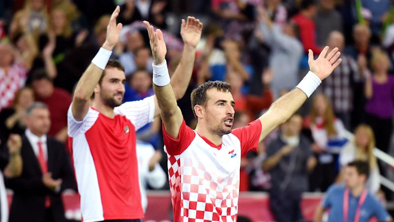 Davis Cup: Croatia leads Argentina 2-1 after doubles