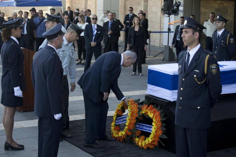 Shimon Peres was Israel's prime minister and president (AP Photo/Oded Balilty)