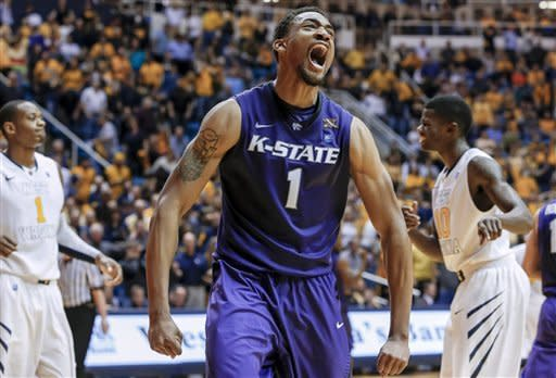 No. 18 K-State holds off West Virginia 65-64