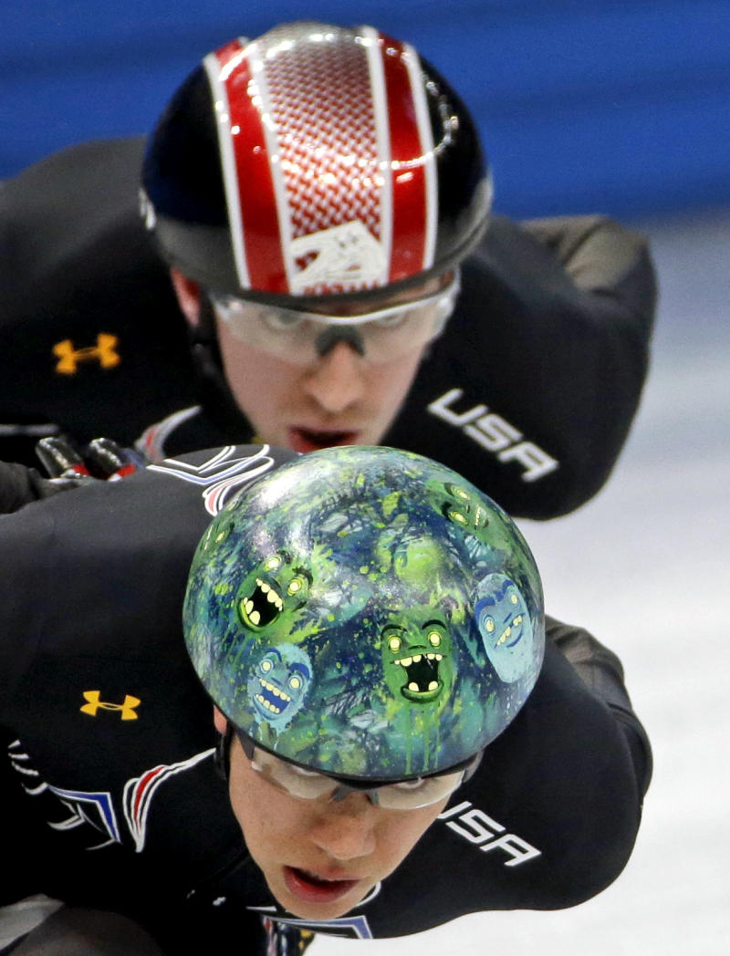 US short track skaters see Sochi as a new chance