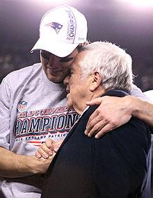 Tom Brady has assured owner Robert Kraft that he'll perform better in the Super Bowl