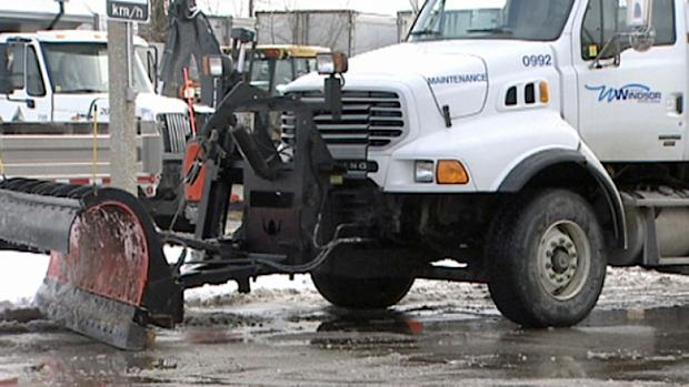 A record amount of snow has already fallen in Windsor this January and it's costing the city millions of dollars.