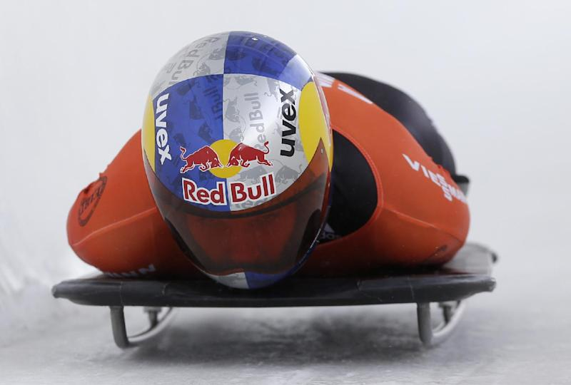 Antoine, Pikus-Pace win World Cup skeleton races
