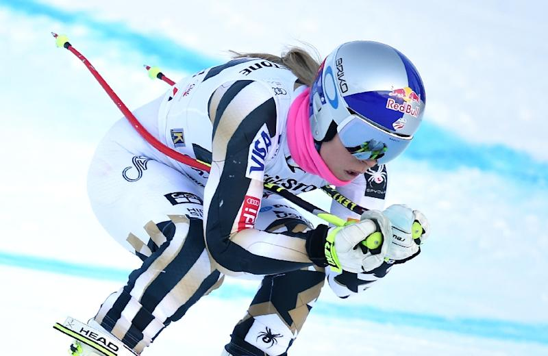 Lindsey Vonn claims 77th World Cup win, now nine behind all-time record