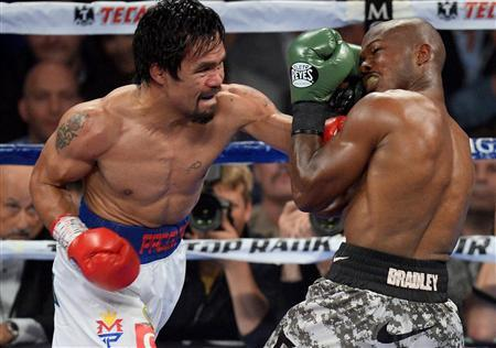Boxing: Timothy Bradley Jr. vs Manny Pacquiao