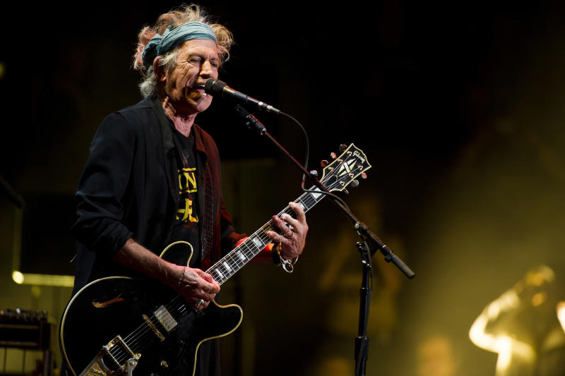 Keith Richards: I don't own an iPod