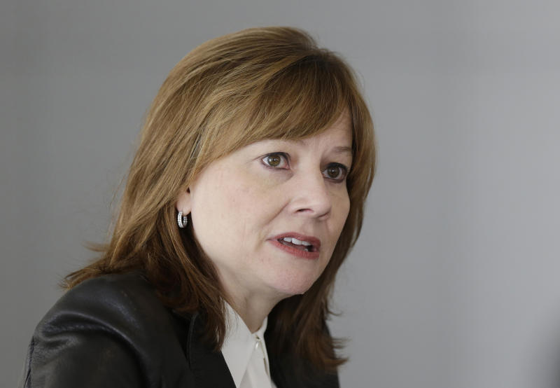 Barra to keep GM plans in place, but accelerate