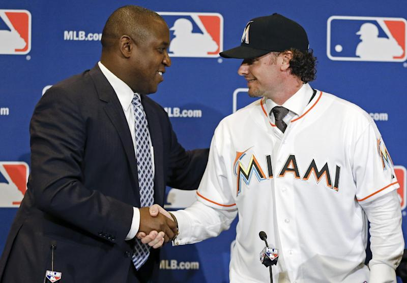 Busy Marlins still looking for upgrade at 3B