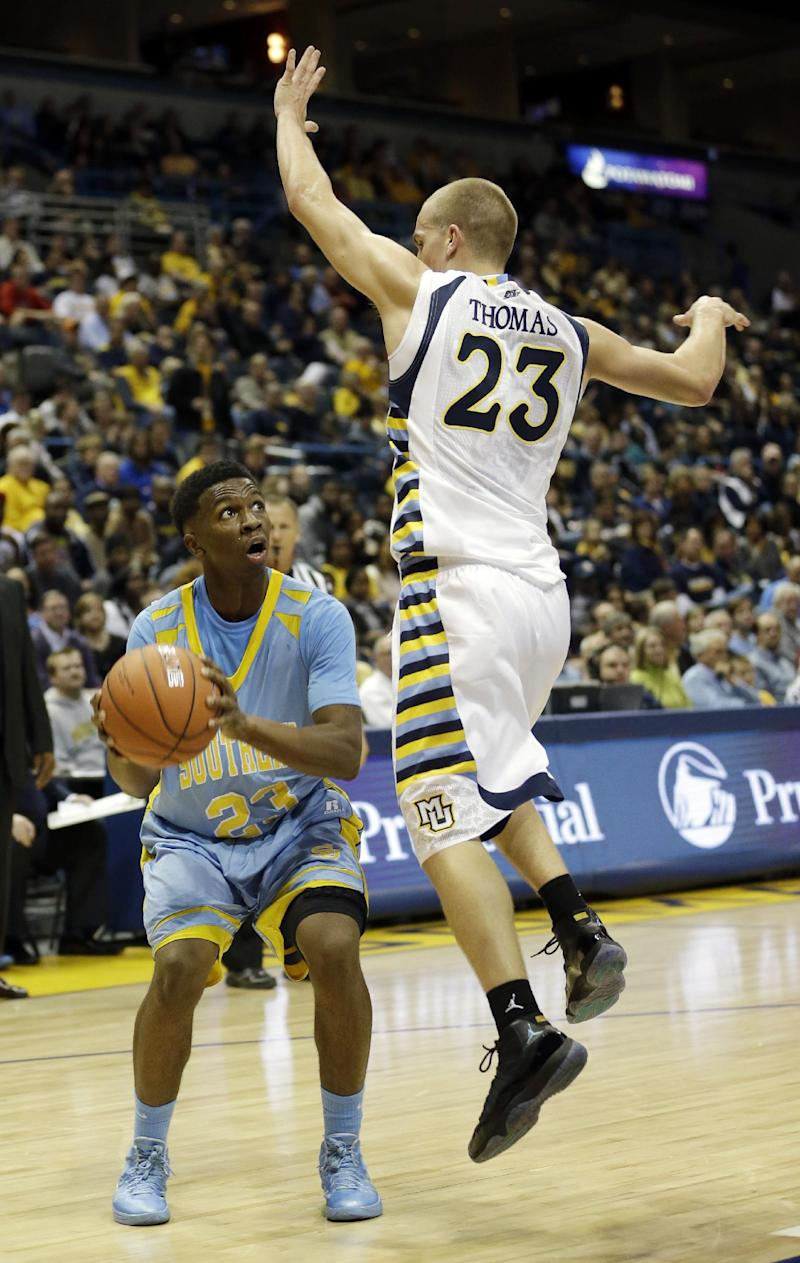 Gardner leads No. 17 Marquette past Southern
