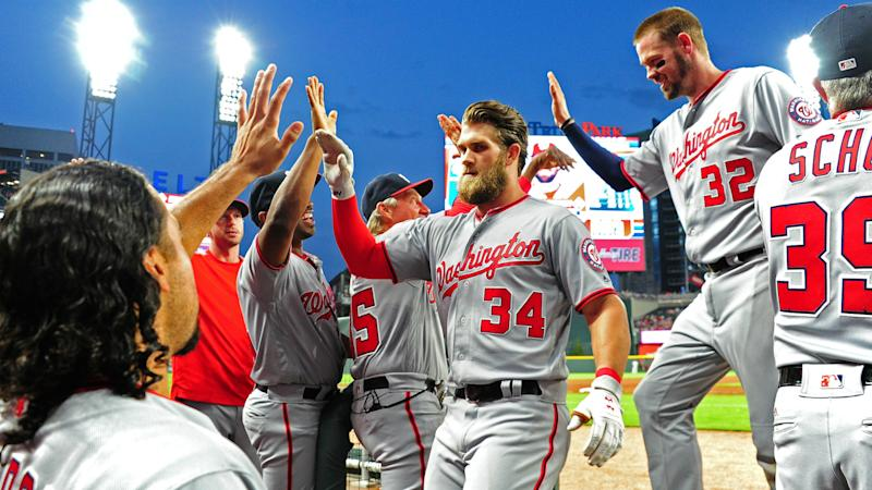 Scherzer pitches 7 scoreless innings, Nats beat Braves 3-1