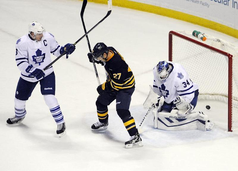 Sabres upend Maple Leafs 3-2 in OT