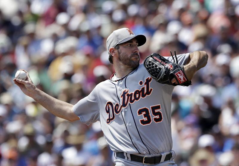 Verlander, Tigers beat Braves' split squad 3-0
