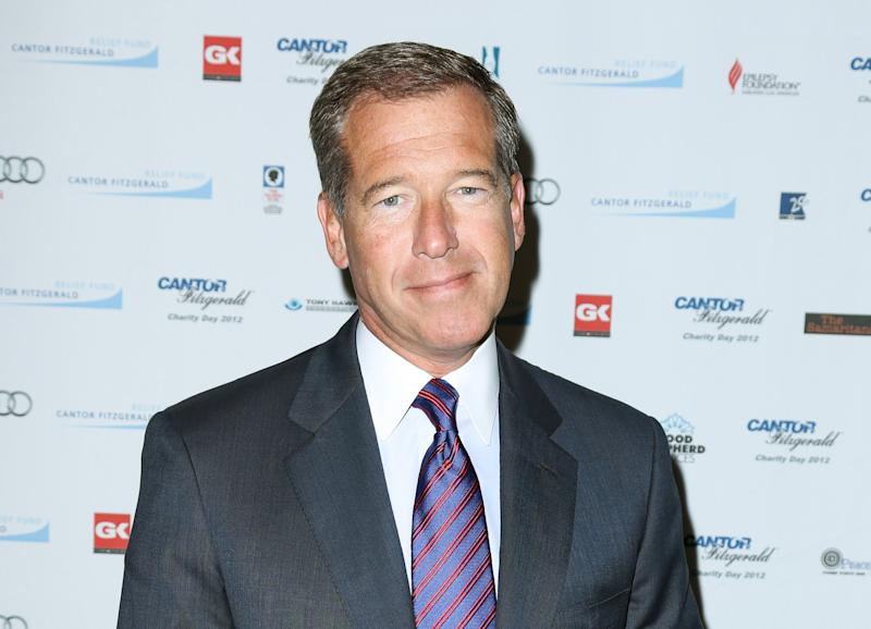 NBC's Brian Williams taking on new competition