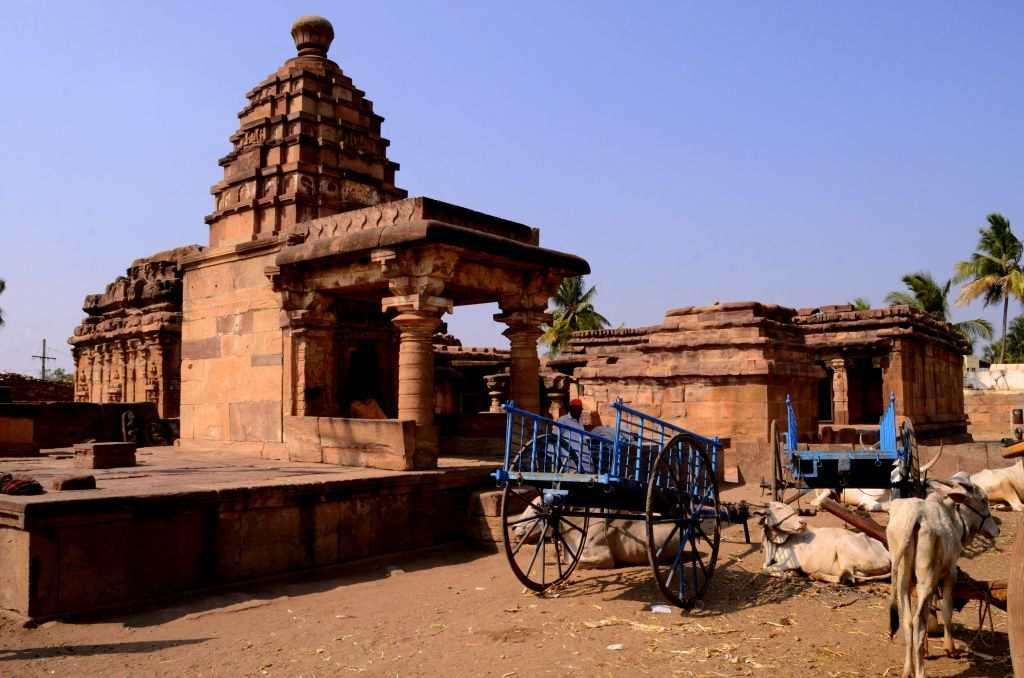 """<p>It is well past dawn and I drive all the way from Vatapi or <a title=""""Badami Slideshow"""" href=""""http://in.lifestyle.yahoo.com/photos/badami-where-gods-abide-in-caves-slideshow/"""" target=""""_blank"""">Badami</a>, the Chalukyan capital across the Malaprabha River to Aihole or Aivalli, where monuments fill your eyes everywhere. The temples are located in the heart of the town. You do not see houses or markets; just temple complexes in various states of ruin and restoration.</p>"""