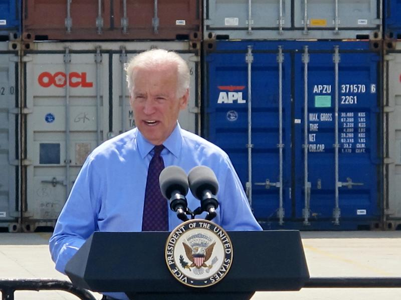 Biden: US could be left behind on infrastructure