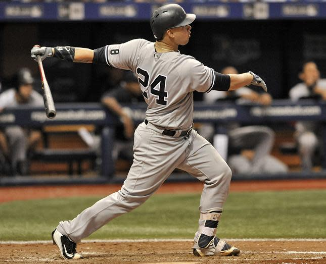 Brad Miller's two home runs not enough as Rays fall to Yankees