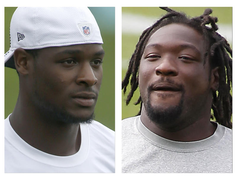 Police: Steelers' Bell, Blount admitted buying pot