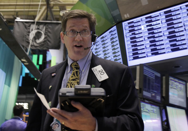 Stocks stabilize on Wall Street after a sell-off