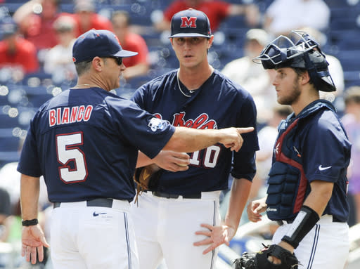 Mississippi leaves CWS with 4-1 loss to Virginia