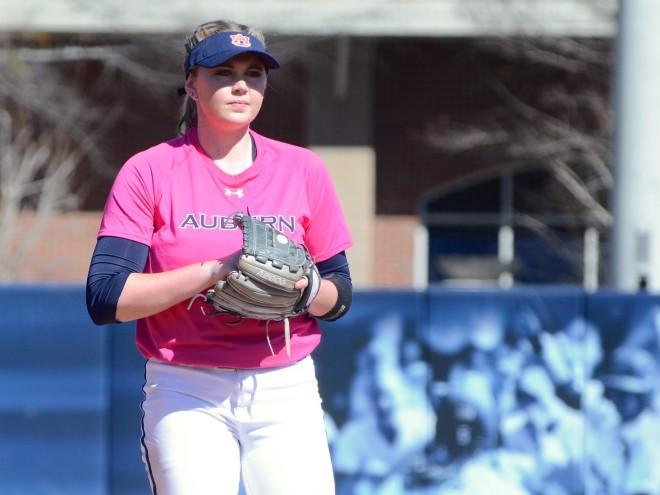 Florida coach, Auburn player clash after softball game
