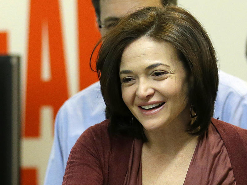 Sandberg book scores big sales for its first week
