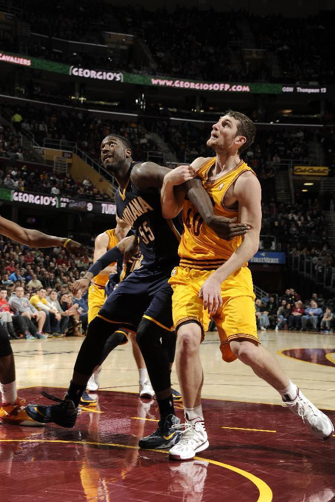 Pacers hold off Cavaliers 82-78