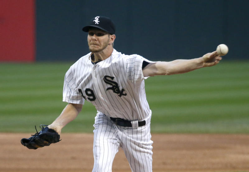 Sale leads White Sox past Tigers, 6-2
