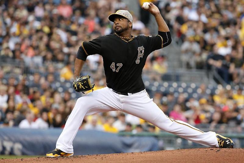 Pirates place LHP Liriano on DL