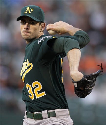 McCarthy pitches Athletics to 5-2 win over Orioles
